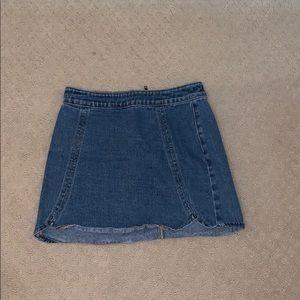 Dresses & Skirts - Pacsun Jean Skirt!